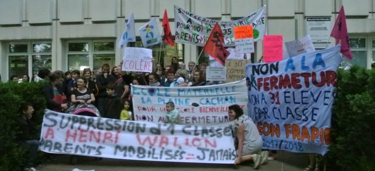 Grosse mobilisation à Créteil avant la carte scolaire définitive du Val-de-Marne