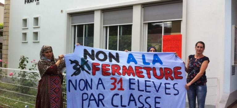L'école maternelle Léon Frapier se mobilise contre une fermeture de classe