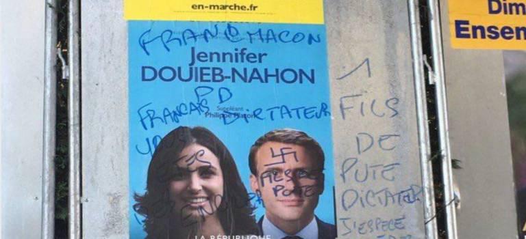 Jennifer Douieb-Nahon porte plainte suite à des tags antisémites sur ses affiches