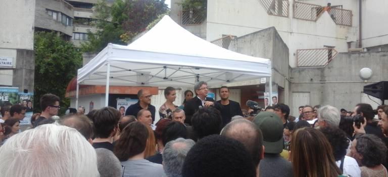 A Ivry-sur-Seine, Jean-Luc Mélenchon en appelle à l'union de la gauche