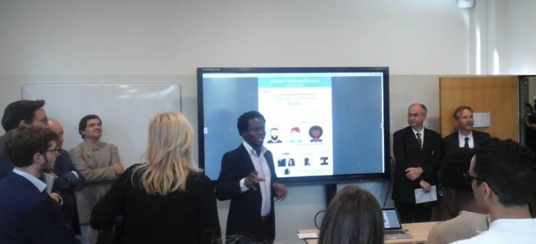 Première promo enthousiaste à la Maison de l'innovation et l'entrepreneuriat étudiant (MIEE)
