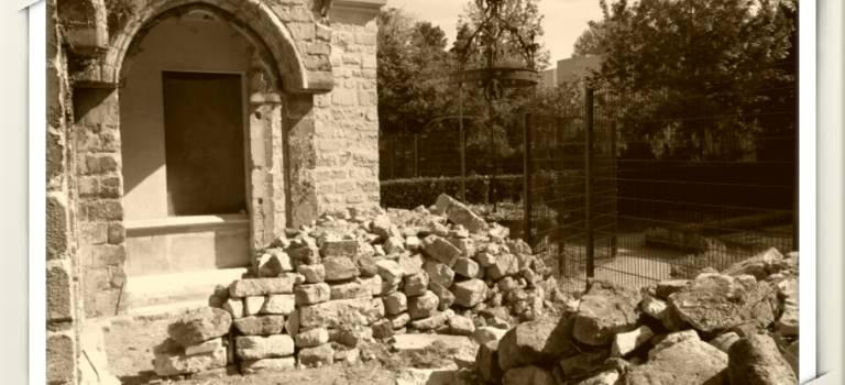 Chantier patrimoine au parc de l'Abbaye à Saint-Maur-des-Fossés