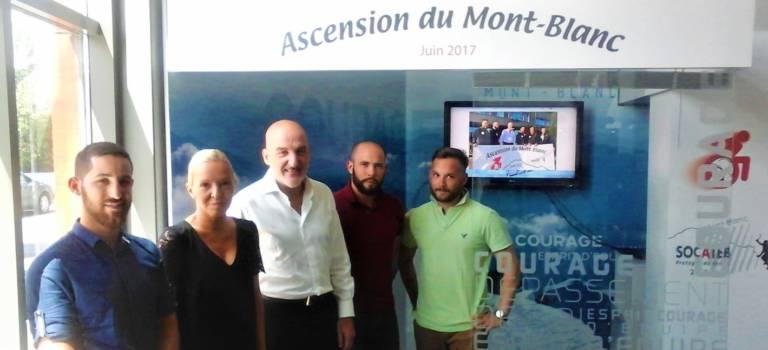 Les Socateb vont grimper le Mont-Blanc pour la bonne cause