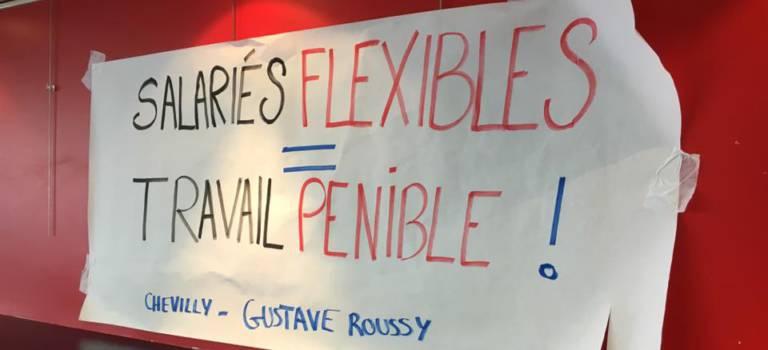 Grève des agents de Gustave Roussy Villejuif et l'hôpital de Chevilly