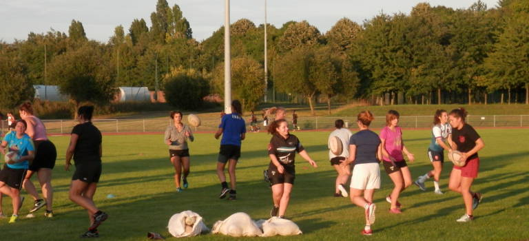 Rentrée enthousiaste pour les rugbywomen championnes de l'UBM-Vitry