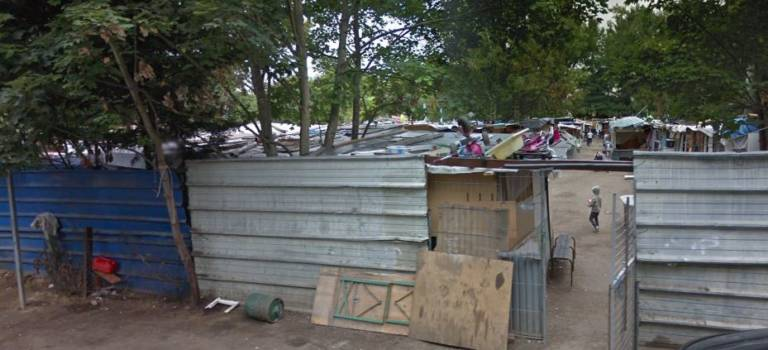 Expulsion du bidonville de la rue du Marché à Rungis