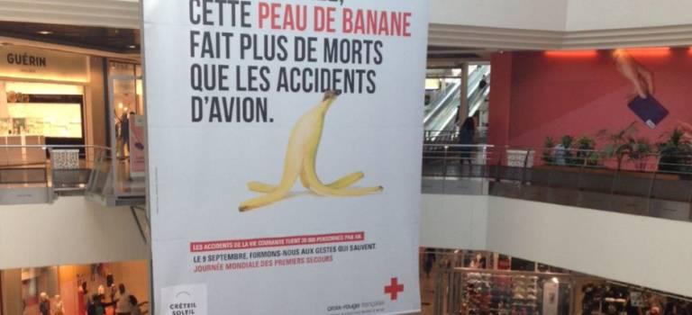 Opération gestes qui sauvent avec la Croix Rouge à Créteil Soleil