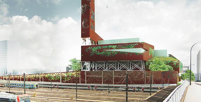 Un pas de plus vers la reconstruction de l'incinérateur d'Ivry