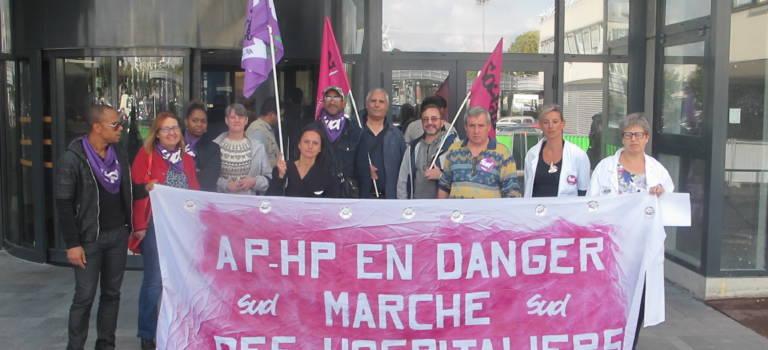 La marche Sud Santé s'est arrêtée à Mondor