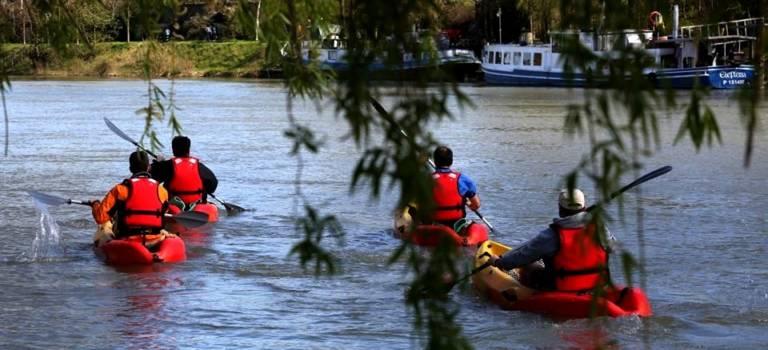 Un club de canoë-kayak à Nogent-sur-Marne
