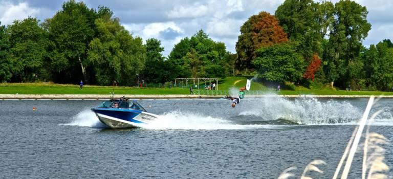Jeux Olympiques : le Val-de-Marne mise sur le ski nautique