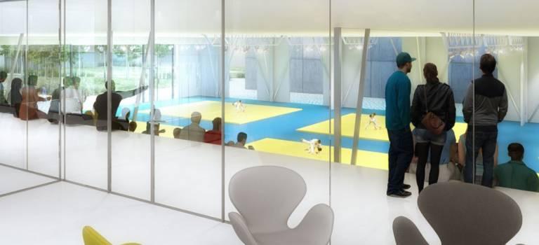 Le futur centre sportif de Saint-Maur-des-Fossés en images