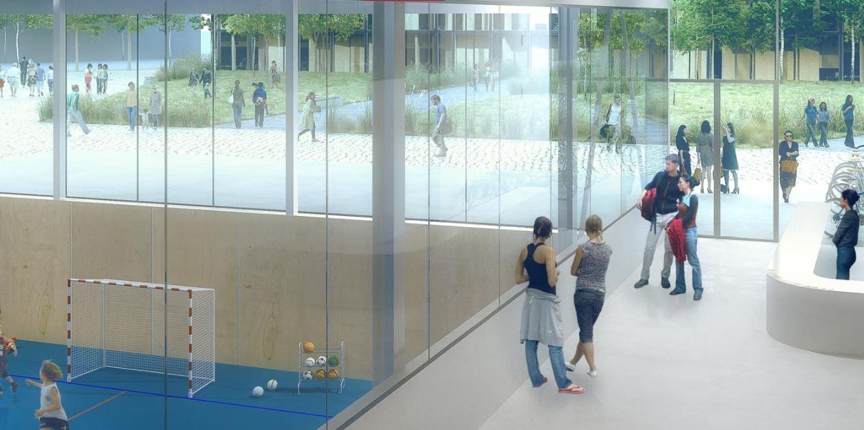 le futur centre sportif de maur des foss 233 s en images 94 citoyens
