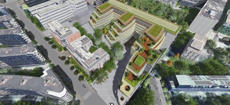 Floresco: 31000 m² de bureaux à Saint-Mandé