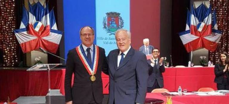 Igor Sémo, élu nouveau maire LR de Saint-Maurice