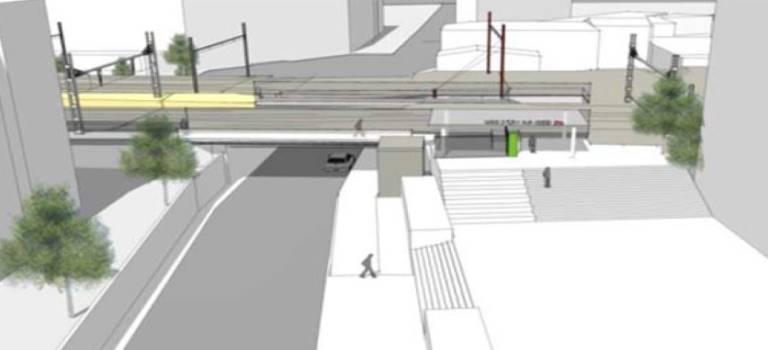 Bientôt un accès rue Saint-Just au RER C d'Ivry-sur-Seine
