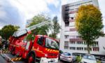 Sucy : incendie dans un immeuble de la rue Cité Verte
