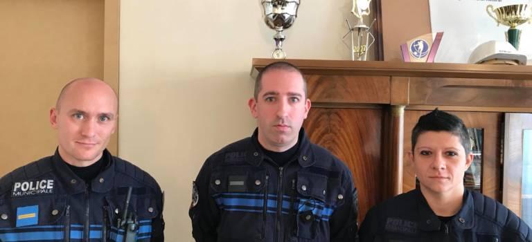 Trois policiers municipaux de Villiers récompensés pour avoir évité une défenestration