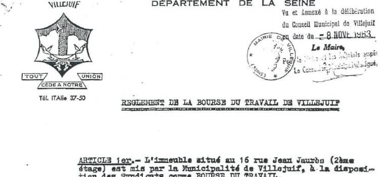 Bourse du travail de Villejuif : 21 élus saisissent la procureure