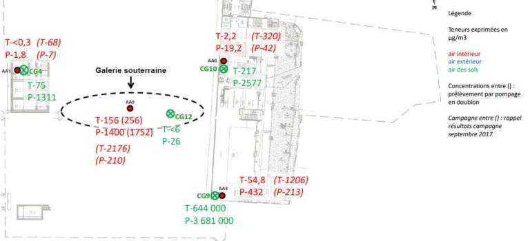 Le département met en ligne le diagnostic pollution du collège Saint-Exupéry