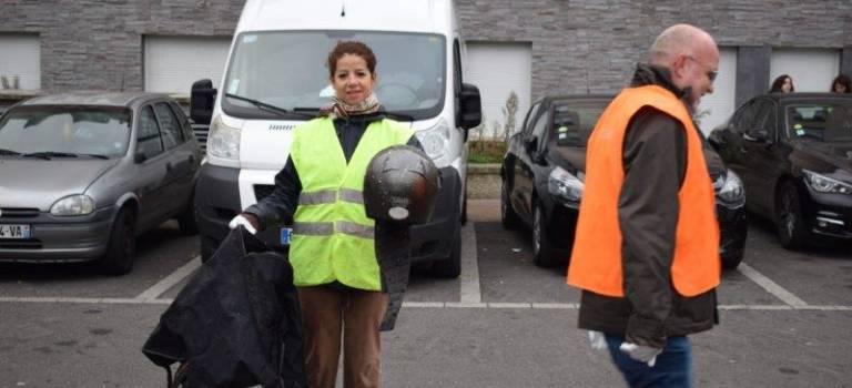 Nettoyage citoyen à Champigny et Villejuif
