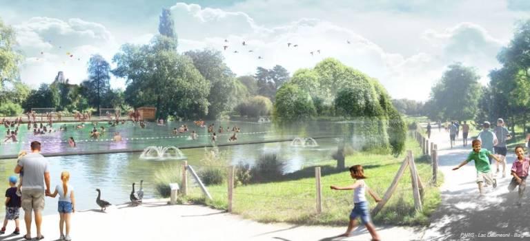 75 000 baigneurs attendus au lac Daumesnil dès 2019