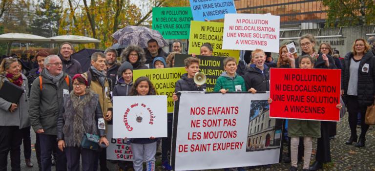 Collège Saint-Exupéry de Vincennes : les grands en télé-enseignement jusqu'à Noël