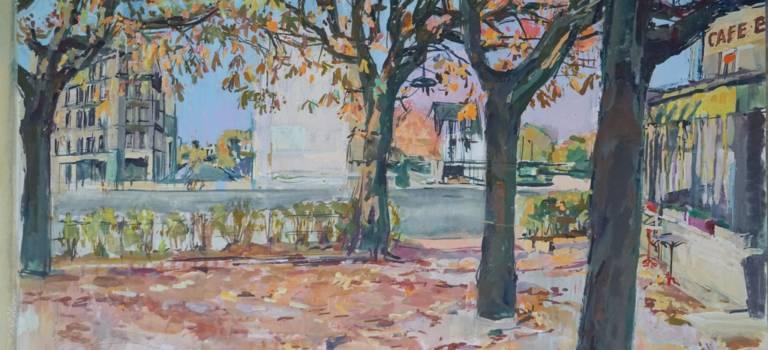 Don de 88 oeuvres de James Rassiat au musée de Nogent-sur-Marne