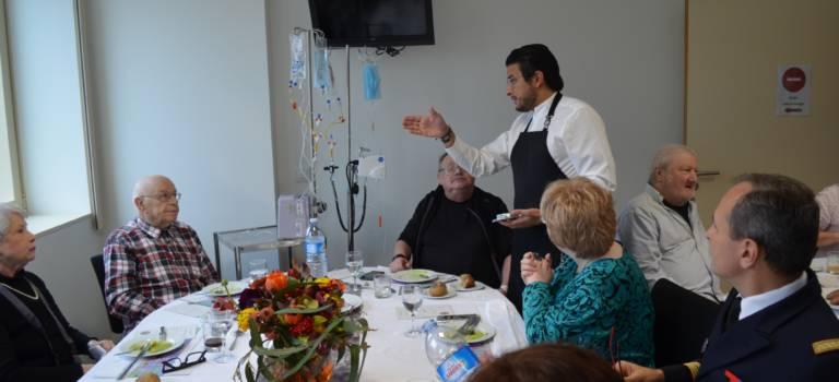 Quand l'hôpital Bégin se transforme en table gastronomique