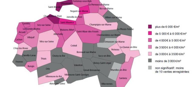 Immobilier en Val-de-Marne : tous les voyants au vert