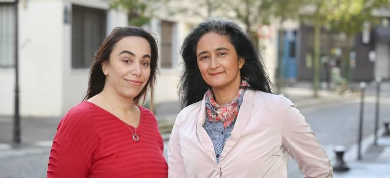 Sabrina Sebaihi et Nadine Herrati à la tête d'EELV 94