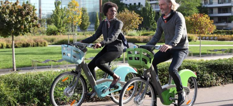 Le nouveau Vélib fait son tour du Val-de-Marne