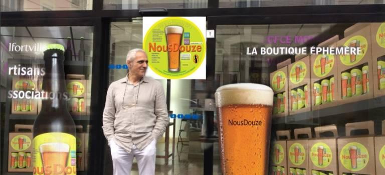 Maxime Veber lance sa bière Nous Douze à Choisy-le-Roi