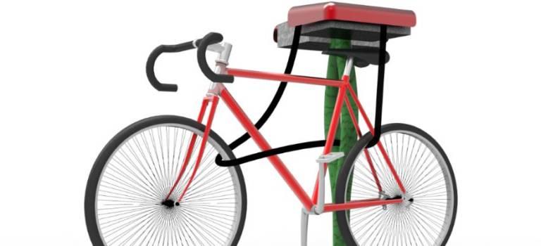 Une Chevillaise invente des bornes intelligentes pour garer son vélo