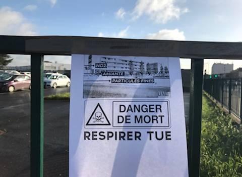 Amiante au lycée Brassens : situation bloquée et CA exceptionnel