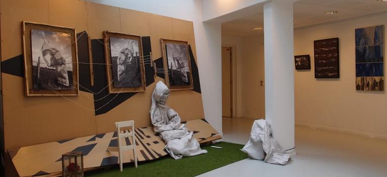 Chemin des arts oeuvre au rayonnement culturel de la cathédrale de Créteil
