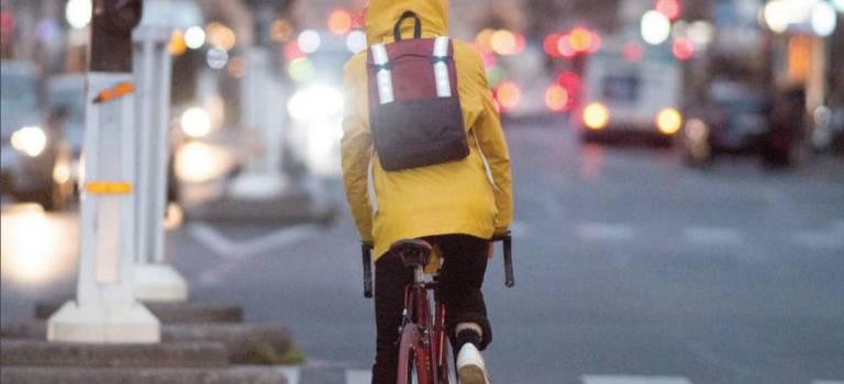 A Arcueil, Galanck primée pour son sac-à-dos GPS de vélo