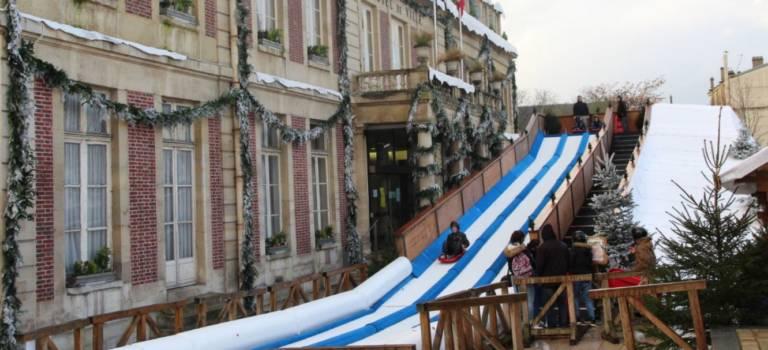 Maisons alfort ouvre une piste de luge pour no l 94 citoyens for Piscine villecresnes