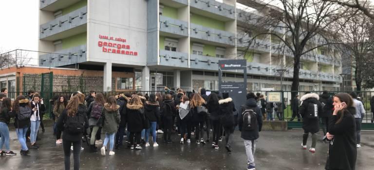 Retour au lycée Brassens mais avec 3 salles en moins à Villeneuve-le-Roi