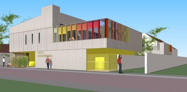 La future crèche du Plessis-Trévise en images