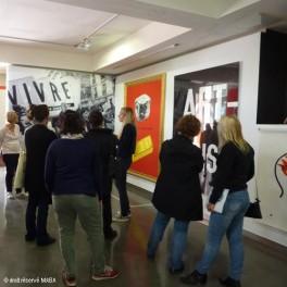 Visite de l'exposition «Fables, Formes, Figures»