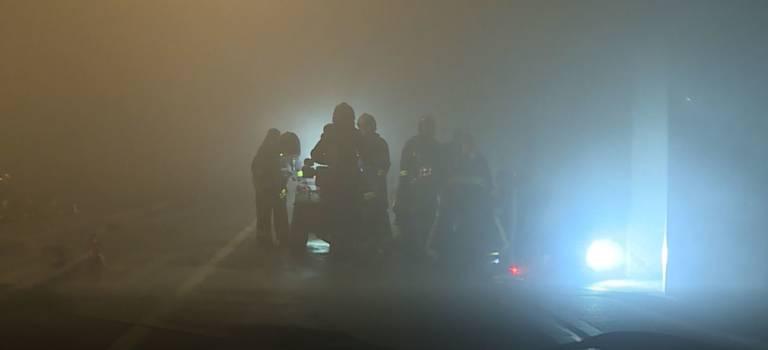 Violent incendie de parking à Choisy: 200 riverains évacués