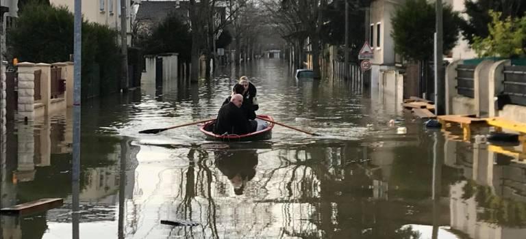 Inondations en Val-de-Marne:  décrue en vue