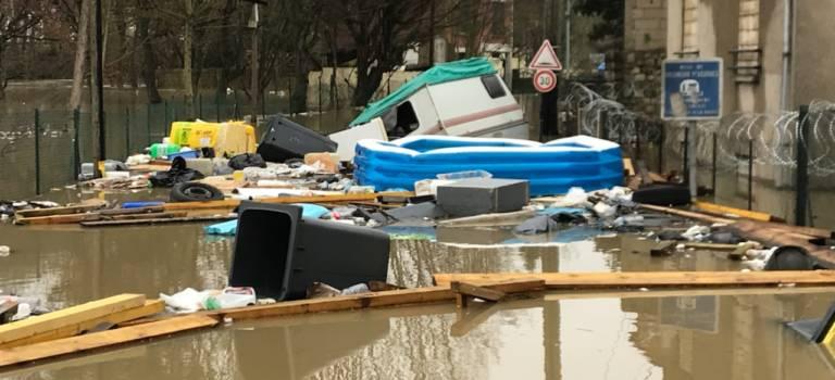 Inondation: la région met 1 million d'euros et s'inquiète des pollutions
