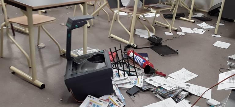 Amiante et vandalisme à la cité scolaire Brassens: les cours peuvent reprendre