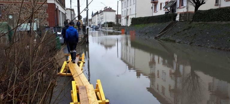 Inondations en Val-de-Marne: mobilisation maximale