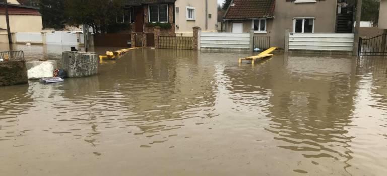 Inondations: 158 villes reconnues en catastrophe naturelle en Ile-de-France