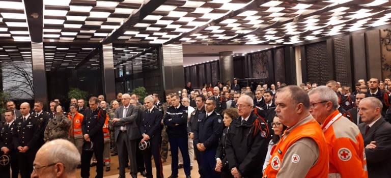 Les bénévoles salués lors des voeux du préfet à la police