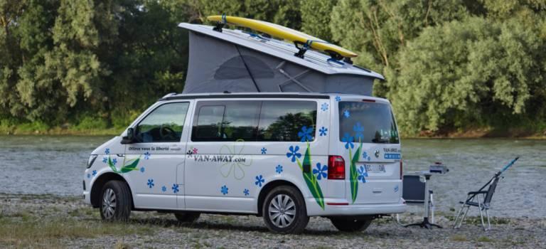 Depuis Orly, Van Away joue la carte du tourisme itinérant