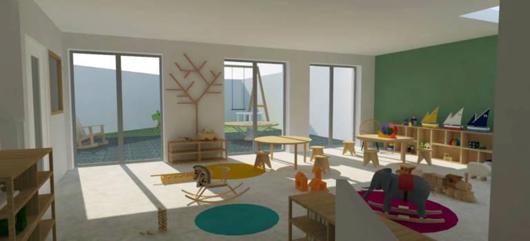 Bientôt une crèche Montessori bilingue à Arcueil